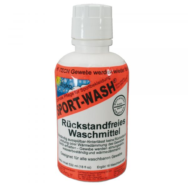 Detergente senza residui Sport Wash