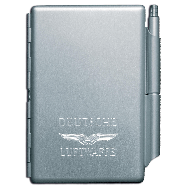 Set scrittura con custodia in metallo, Luftwaffe
