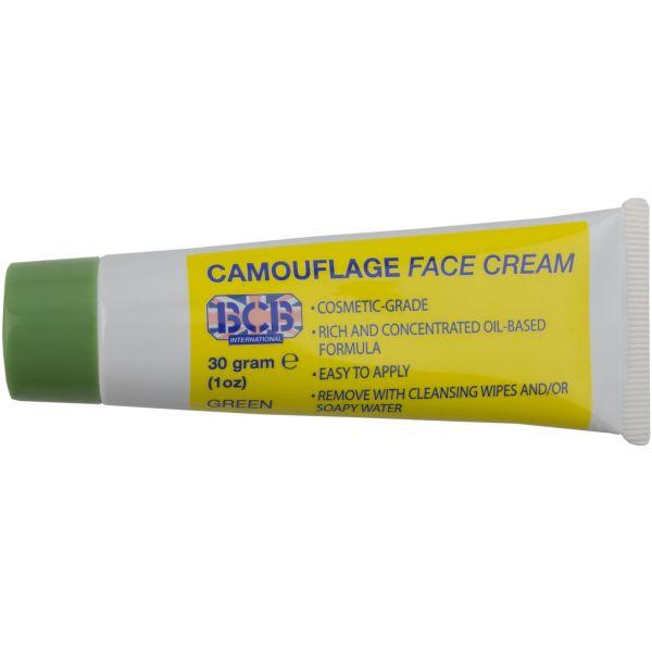 Tubetto crema mimetica viso verde oliva