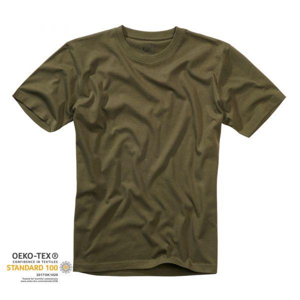 T-Shirt marca Brandit verde oliva