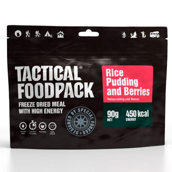 Cibo da trekking Tactical Foodpack Budino di riso con mirtilli