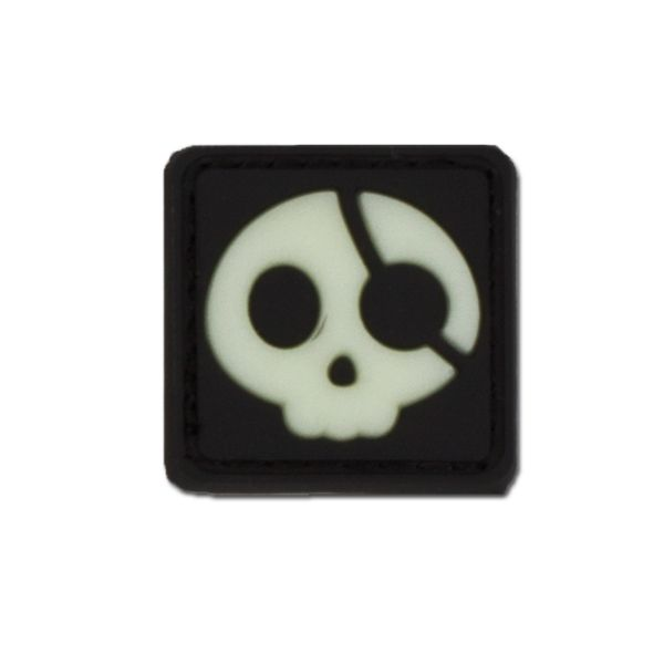 Patch 3D Halloween Pirate luminescente