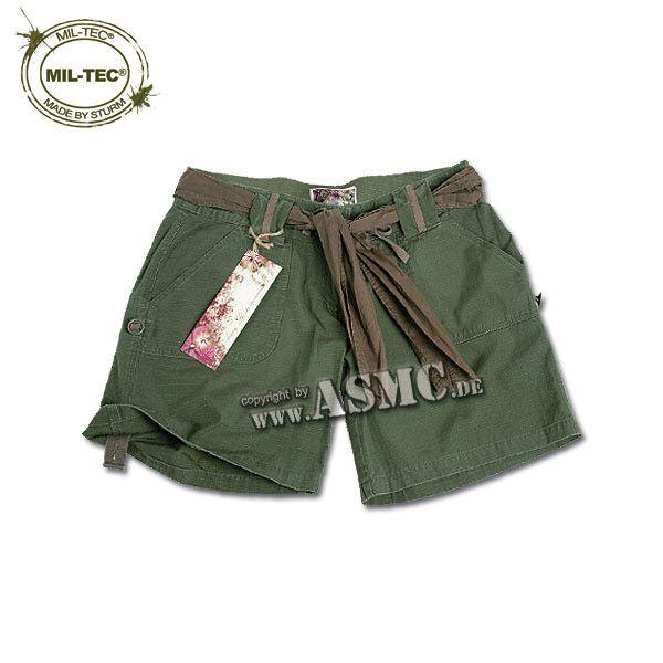 Shorts Army Donna oliva