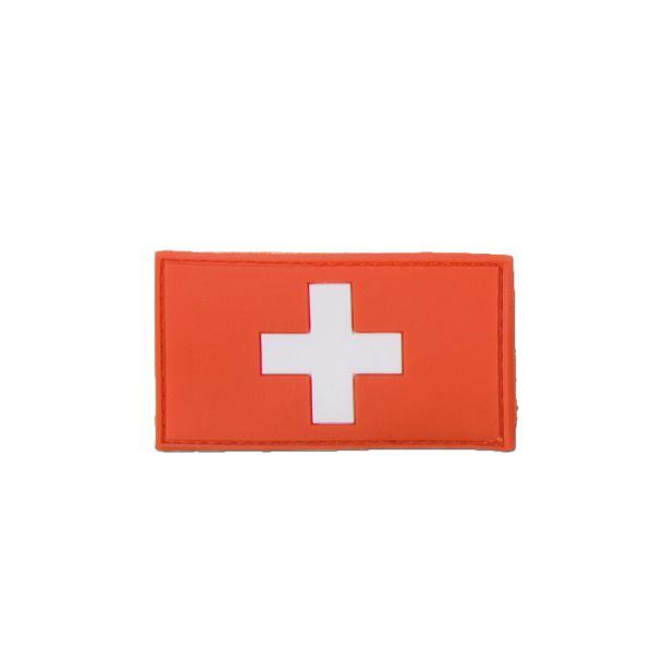 Patch 3D Bandiera Svizzera full color