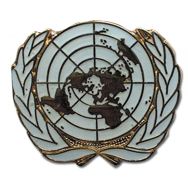 Spilla in metallo ONU