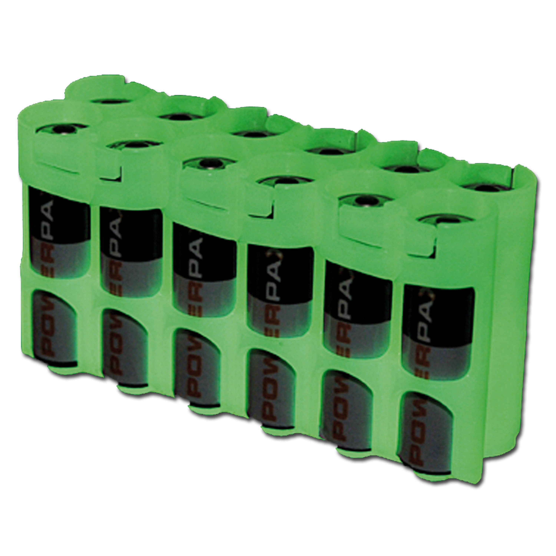Portabatterie Powerpax 12 x AA fotoluminescente