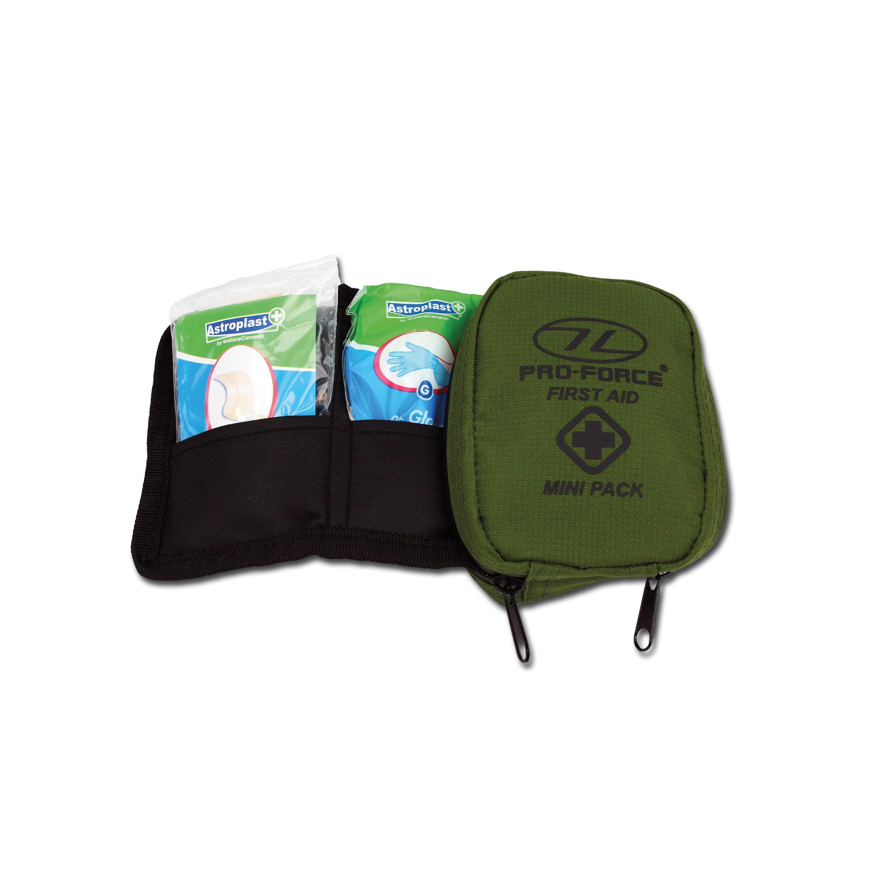 Highlander mini kit di primo soccorso oliva