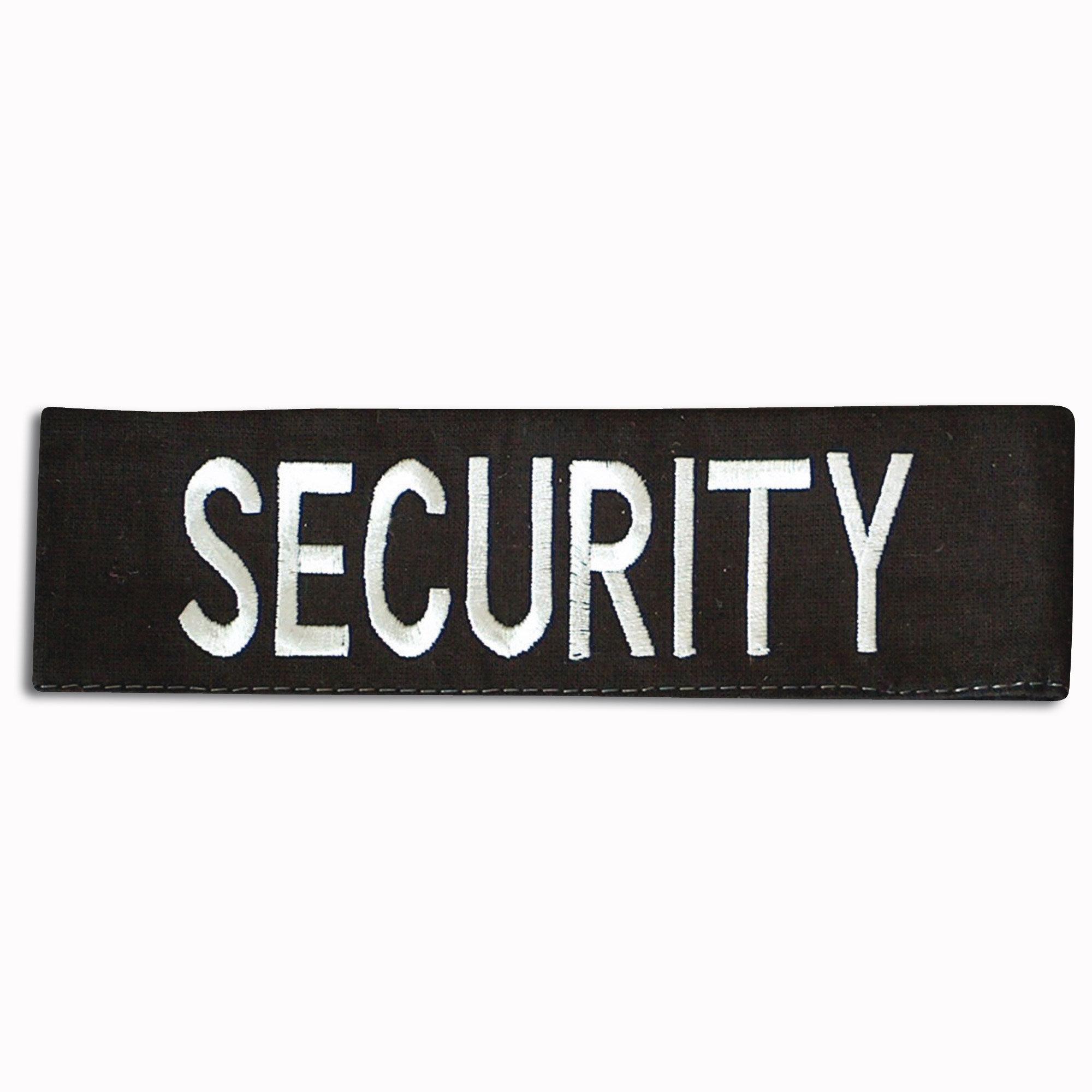 Fascia da braccio con stampa SECURITY
