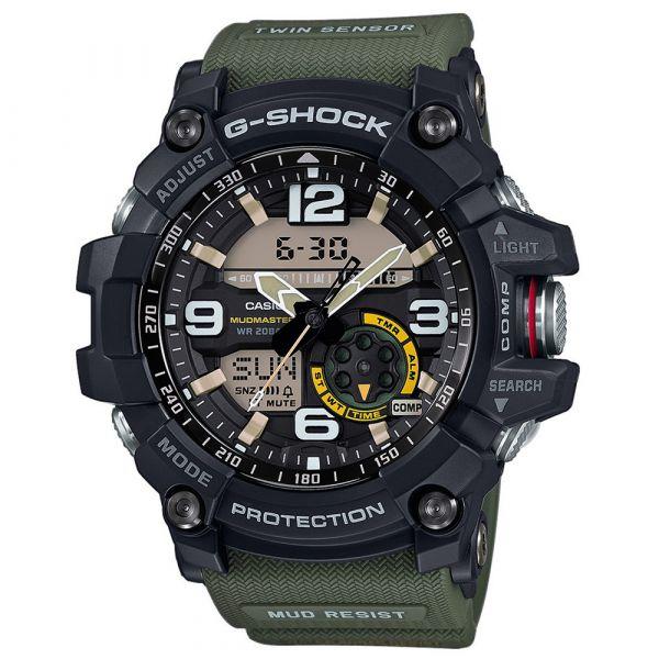 Orologio Casio G-Shock Mudmaster GG-1000-1A3ER nero oliva