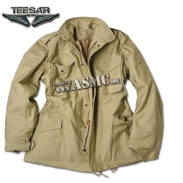 Giacca campo Jacket M-65 Teesar cachi