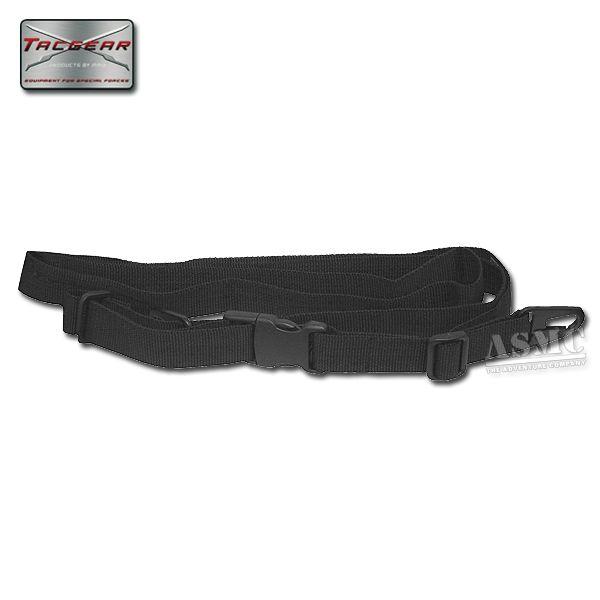 Cinturino tracolla fucile G36 TacGear colore nero