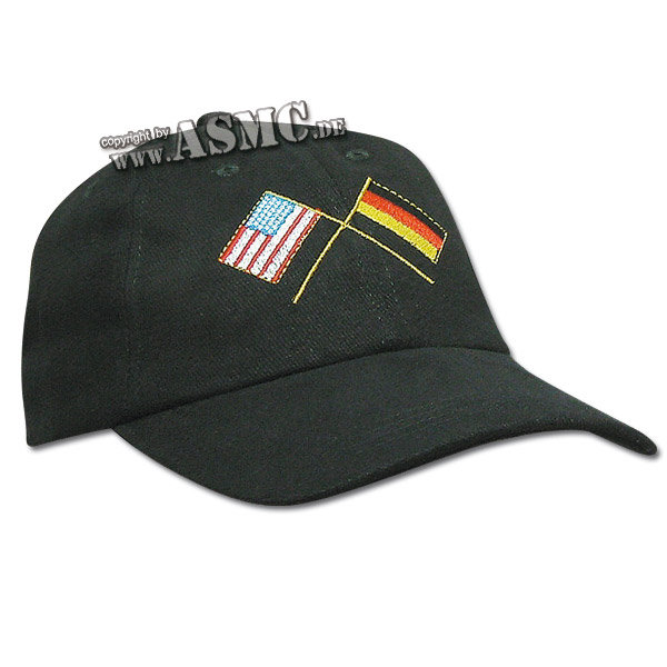 Baseball Cap USA-DEU flags
