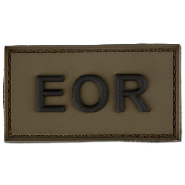 Patch 3D EOR Explosive Ordnance Reconaissance oliva/nero
