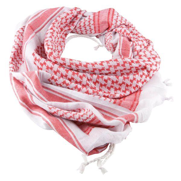 Fazzoletto Shemag rosso-bianco
