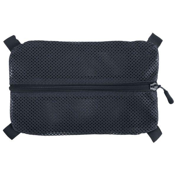 Tasca in rete con Velcro marca Mil-Tec L colore nero