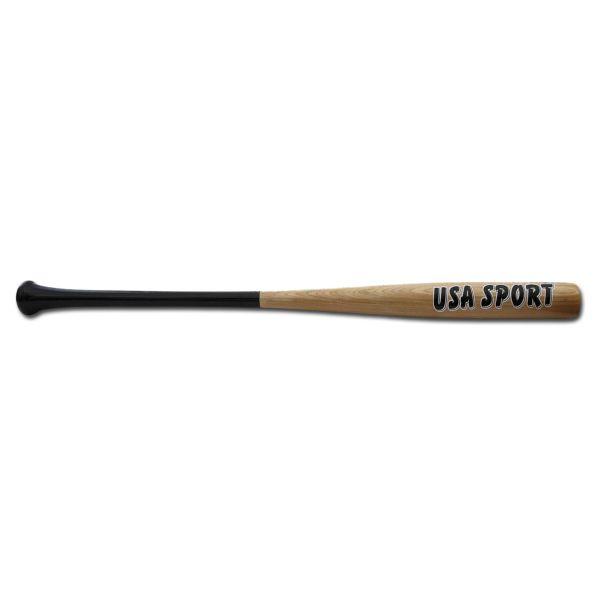 "Mazza da baseball in legno naturale 34"""