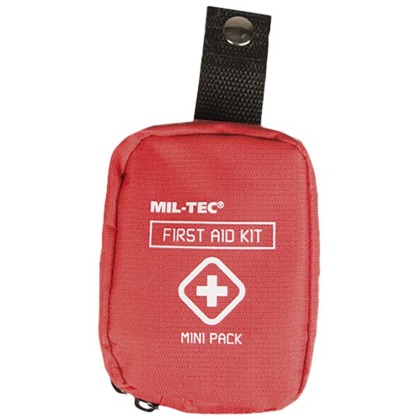 Mini tasca pronto soccorso, Mil-Tec, rossa