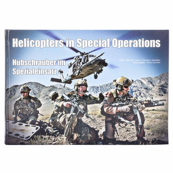 Libro Helicopters in Special Operations