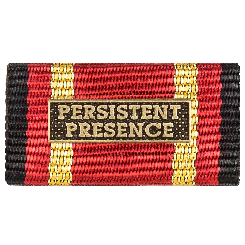 Ordensspange Auslandseinsatz PERSISTENT PRESENCE bronze