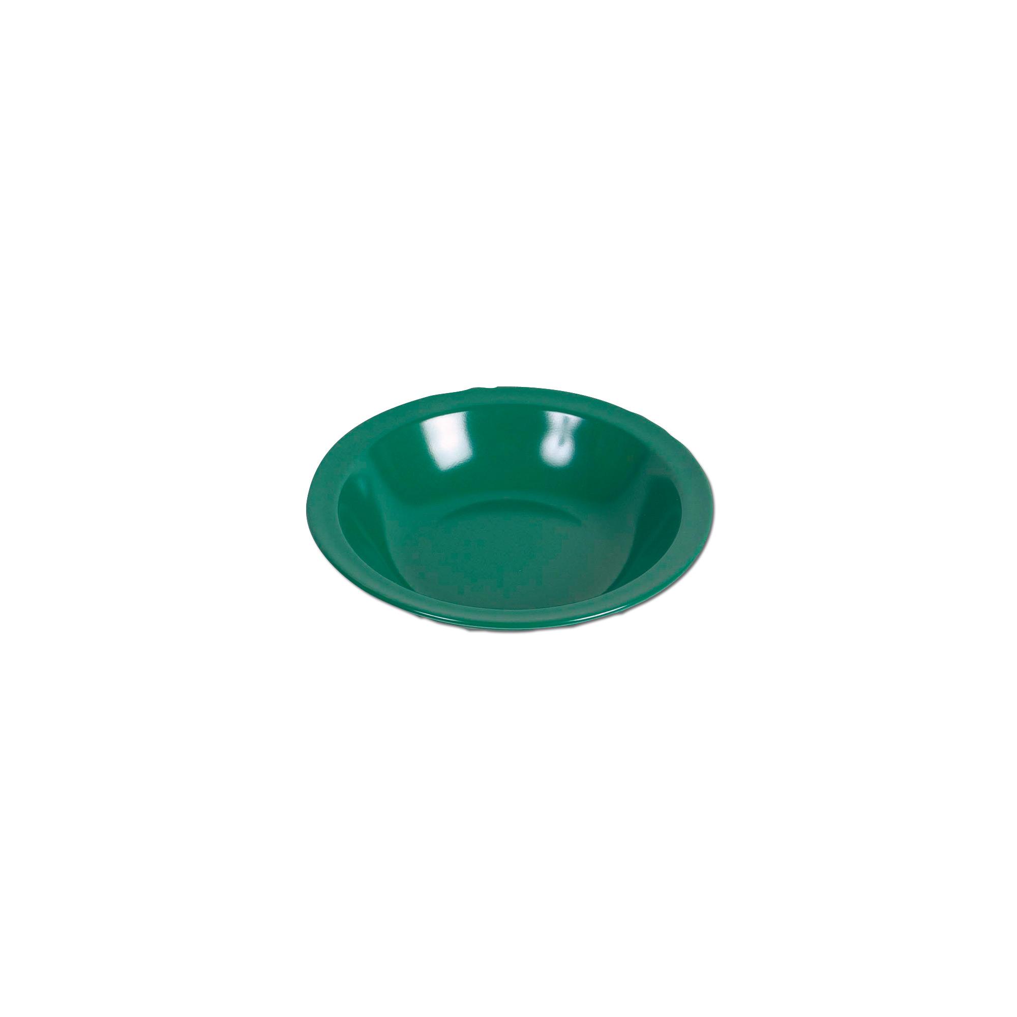 Melamin soup plate green