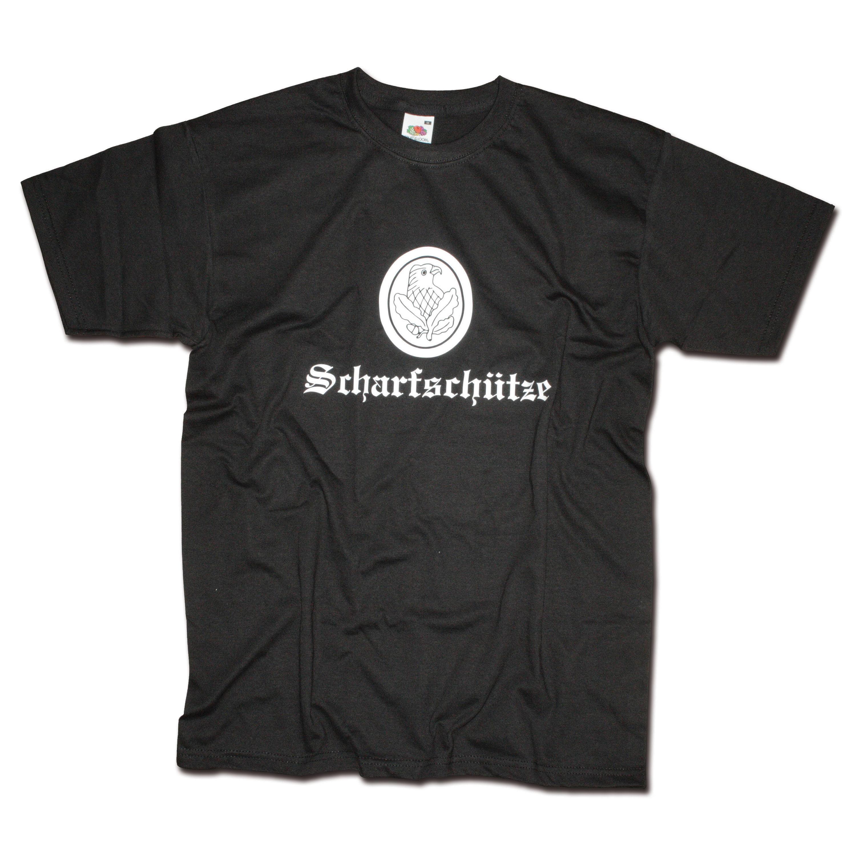 T-Shirt Milty Scharfschütze black