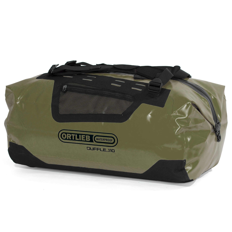 Borsone da viaggio Duffle marca Ortlieb 110 L verde oliva
