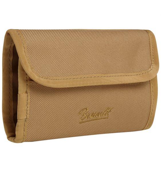 Portafogli Wallet Two marca Brandit cammello