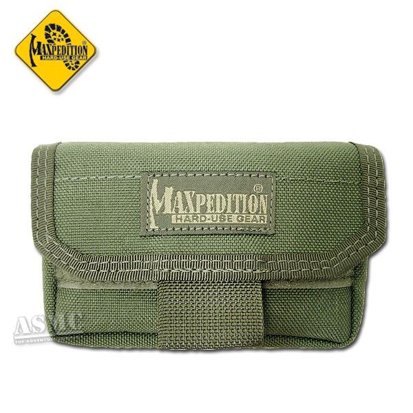 Tasca con box porta pile Volta marca Maxpedition verde oliva