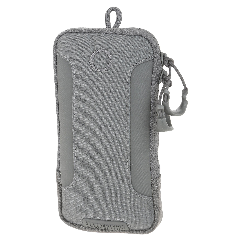Custodia in tessuto per iPhone 6/6S/7 Plus Maxpedition grigia