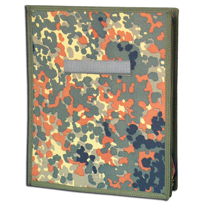 Custodia porta mappa importata mimetica-verde