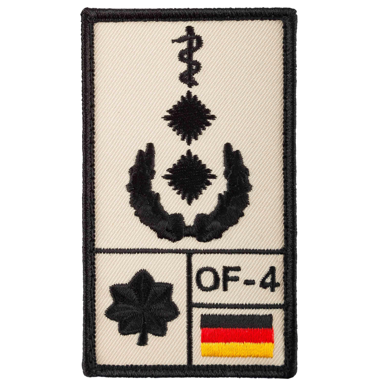 Patch di rango Medico Luogotenente marca Café Viereck sabbia