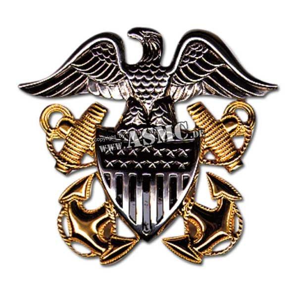 Cap distintivo ufficiale US Navy
