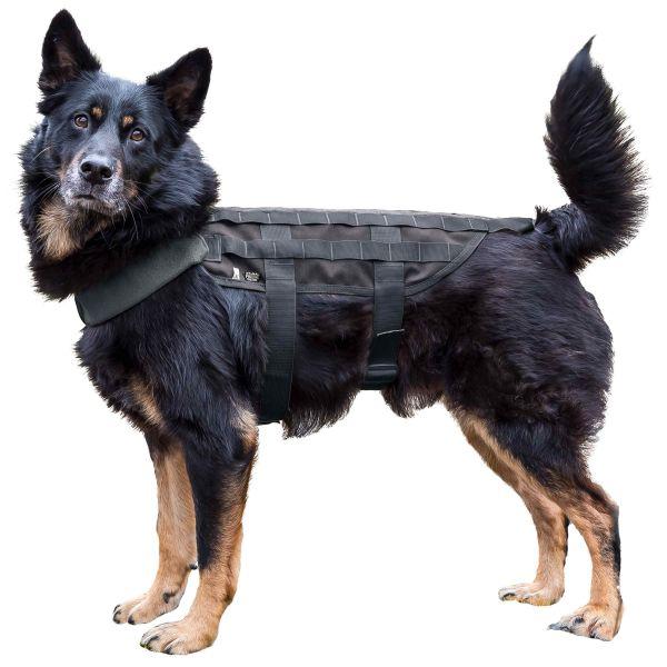 Gilet tattico per cane marchio Primal Gear colore nero
