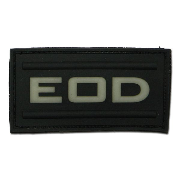 3D-Patch EOD luminescenti nero