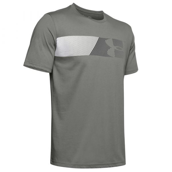 T-Shirt Under Armour Fast Left Chest 2.0 SS gravity green