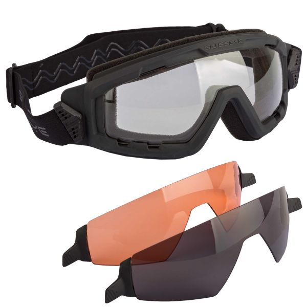 Occhiali di protezione Swiss Eye G-Tac colore nero
