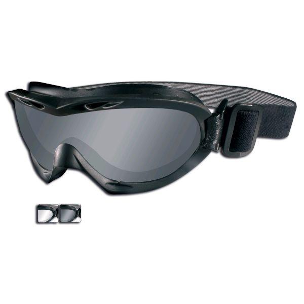 Occhiali di protezione X Nerve, marca Wiley, colore nero