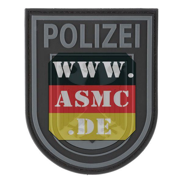 3D-Patch nero polizia federale