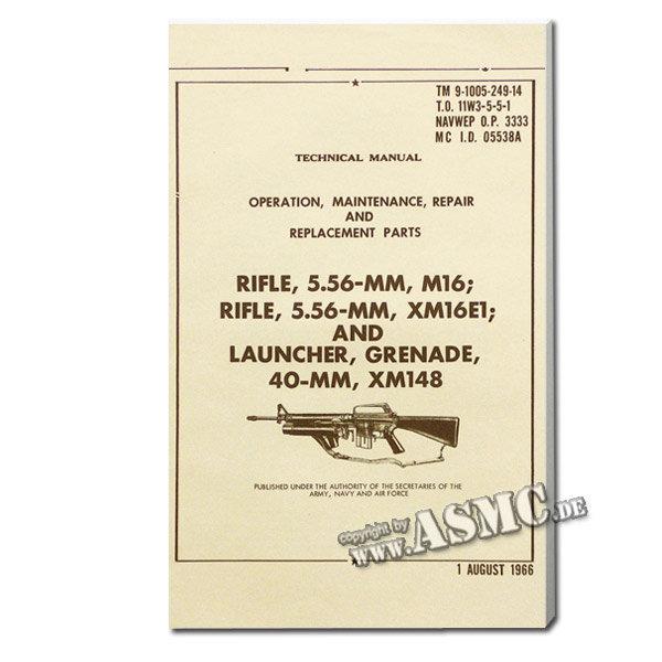 Book Rifle 5.56 mm