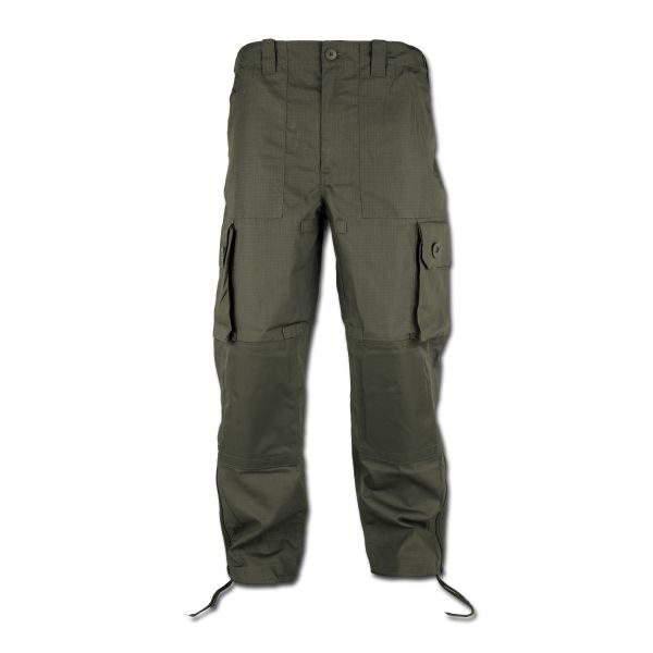 Pantaloni da campo Commando tessuto leggero oliva