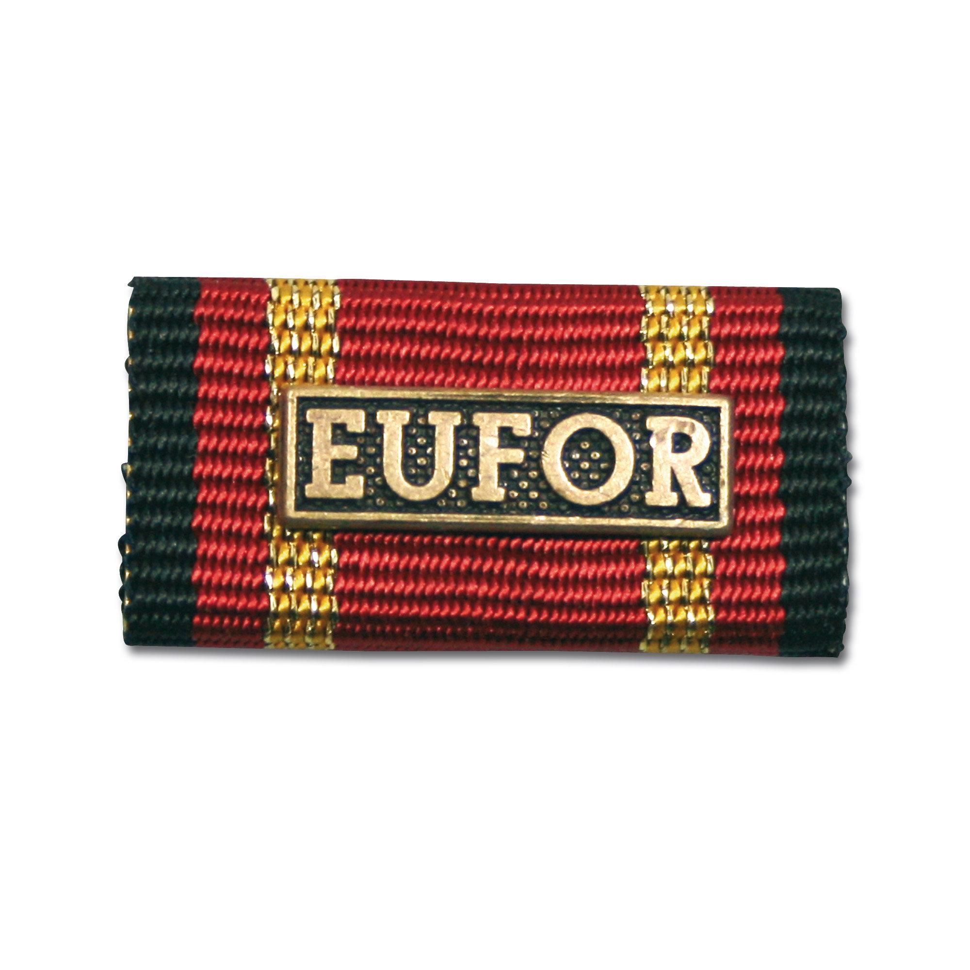 Lapel pin EUFOR bronze