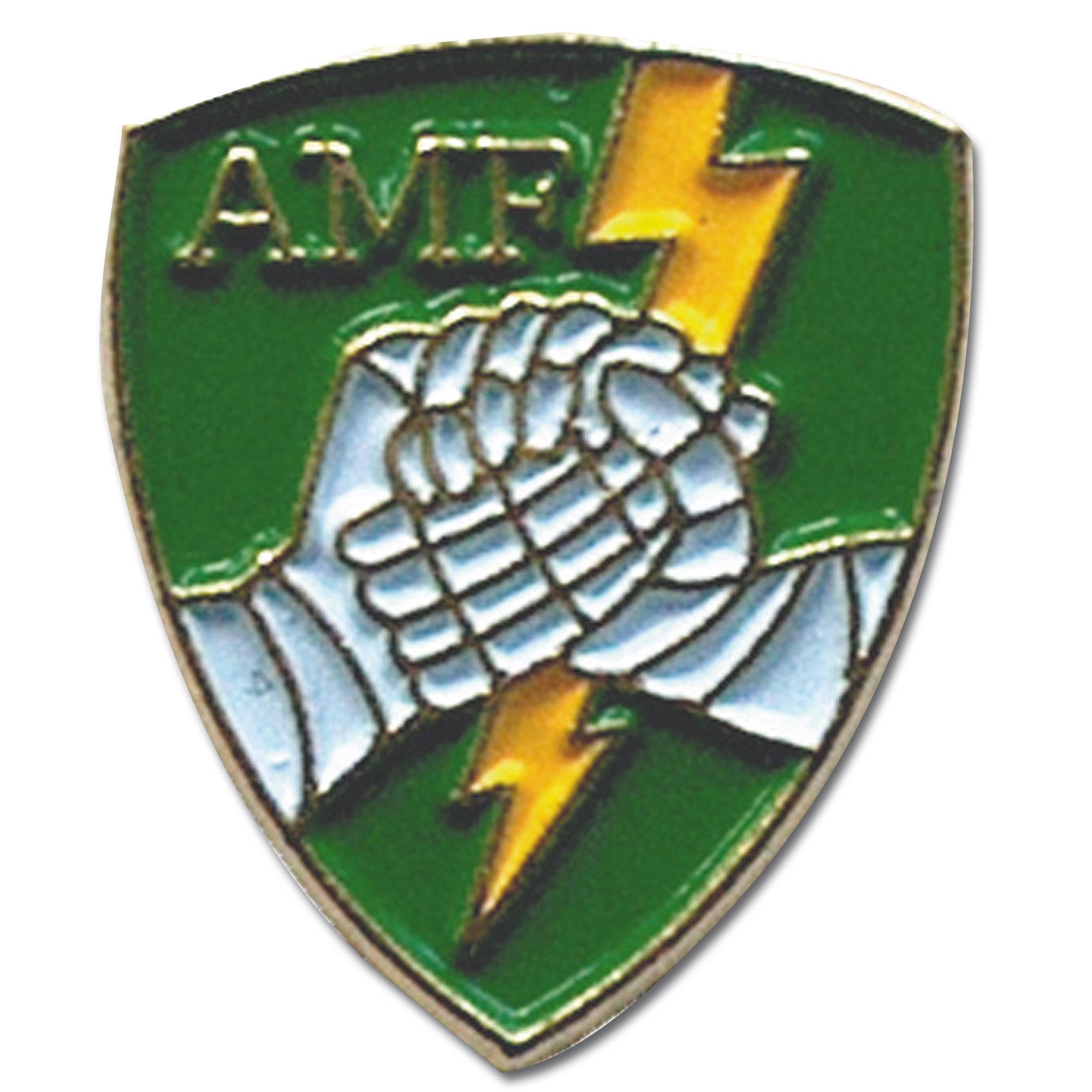Mini spilla in metallo AMF