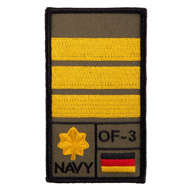 Patch di rango Tenente comandante marca Café Viereck oliva