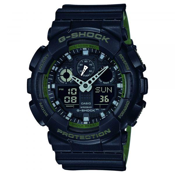 Orologio Casio G-Shock Classic GA-100L-1AER nero oliva