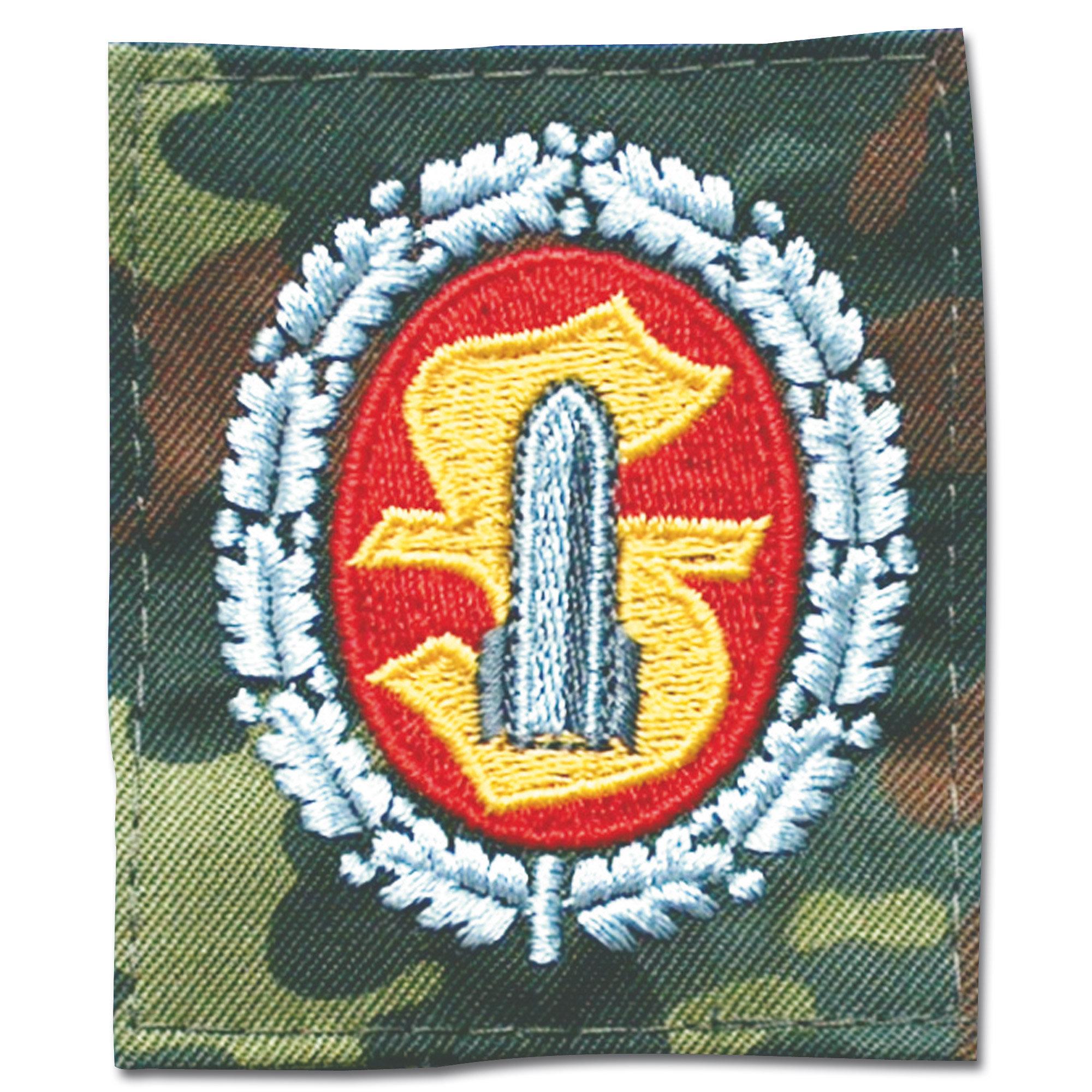 insignia cloth Mun-Personal flecktarn/bunt