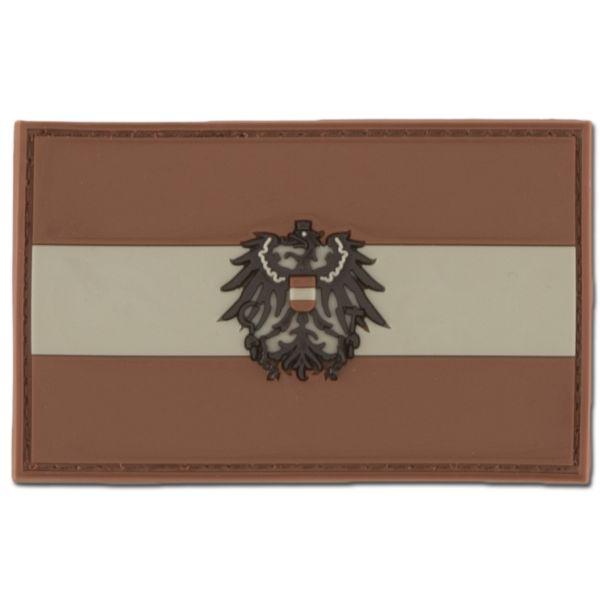Patch 3D Austria con stemma darkdesert