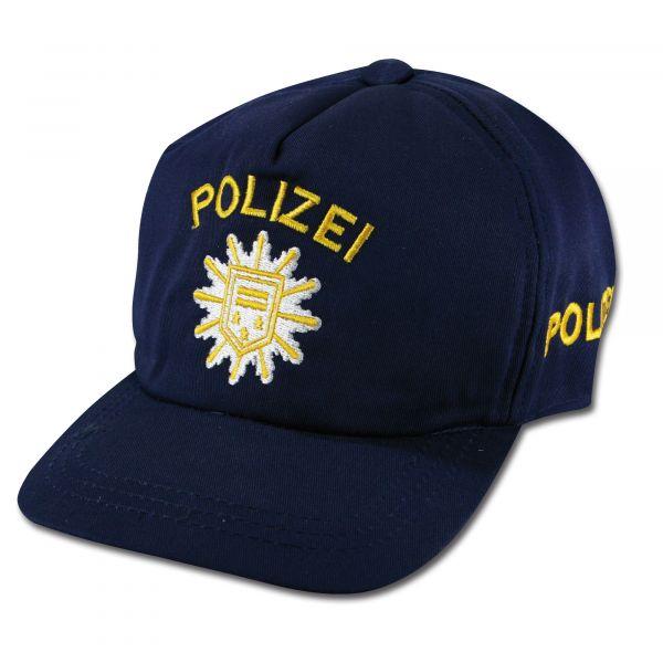 Berretto da basball polizia per bambino blu