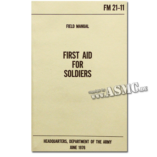 Book First Aid for Soldiers