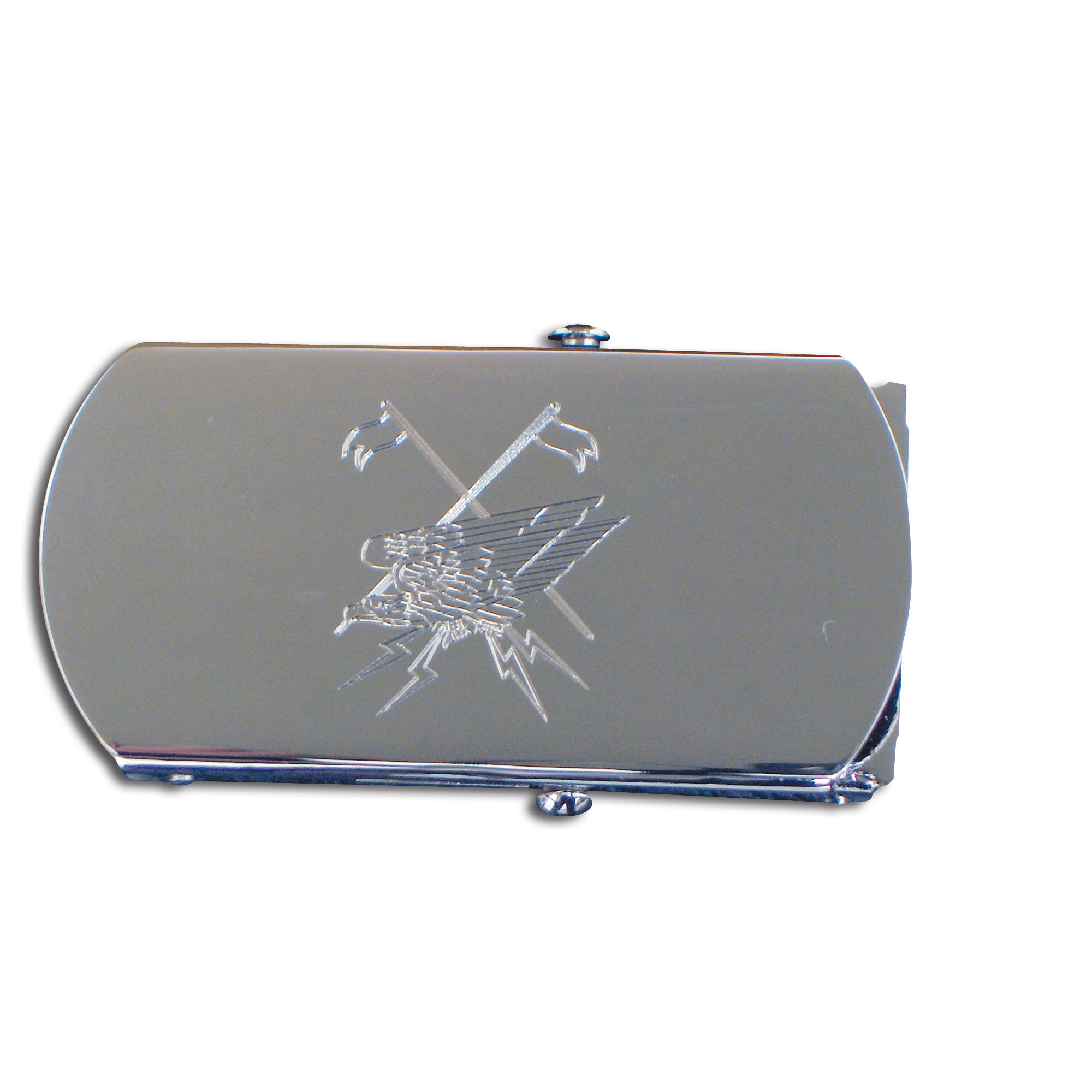 Web belt with engraved buckle Fernspäher