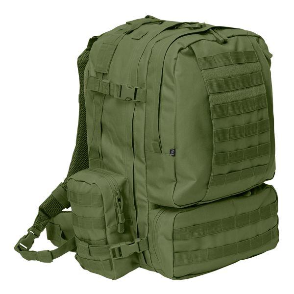 Zaino US Cooper 3-Day-Pack, marca Brandit, verde oliva